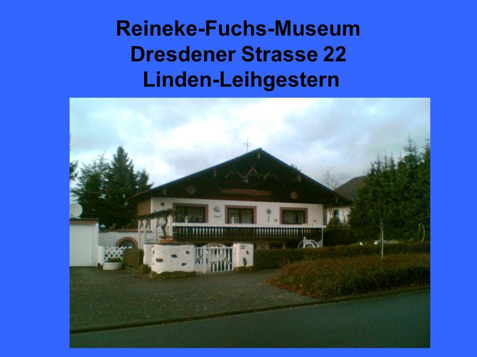 Reineke-Fuchs-Museum Dresdener Strasse 22 Linden-Leihgestern