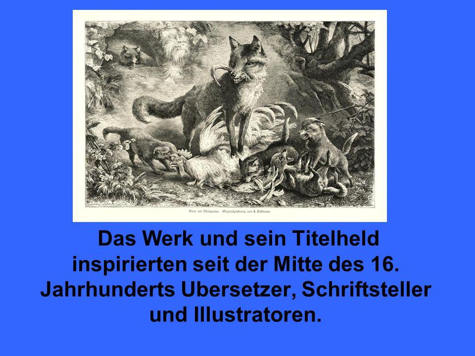 Das Werk und sein Titelheld inspirierten seit der Mitte des 16