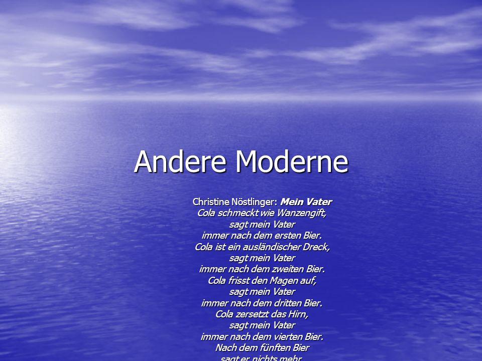 Andere Moderne Christine Nöstlinger: Mein Vater