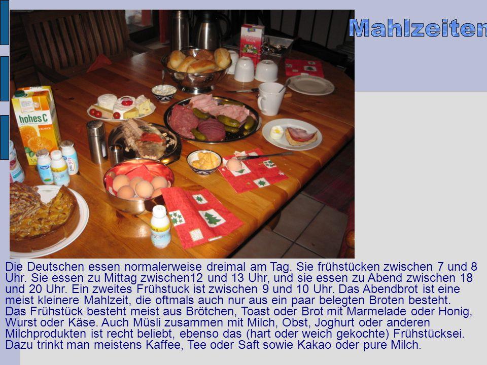 Mahlzeiten