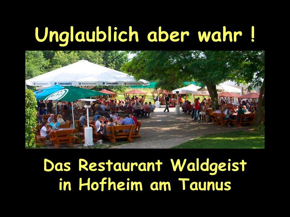 Das Restaurant Waldgeist