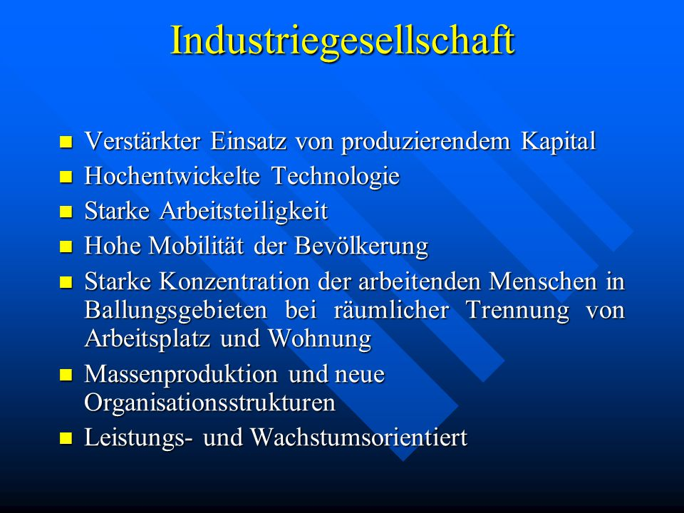 Industriegesellschaft