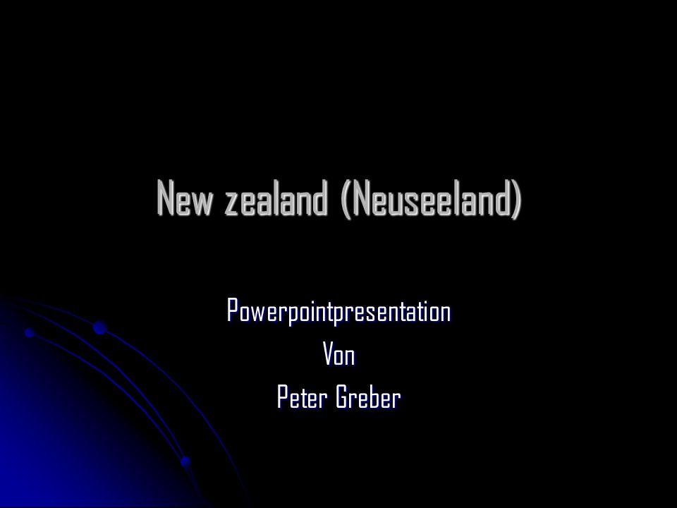 New zealand (Neuseeland)