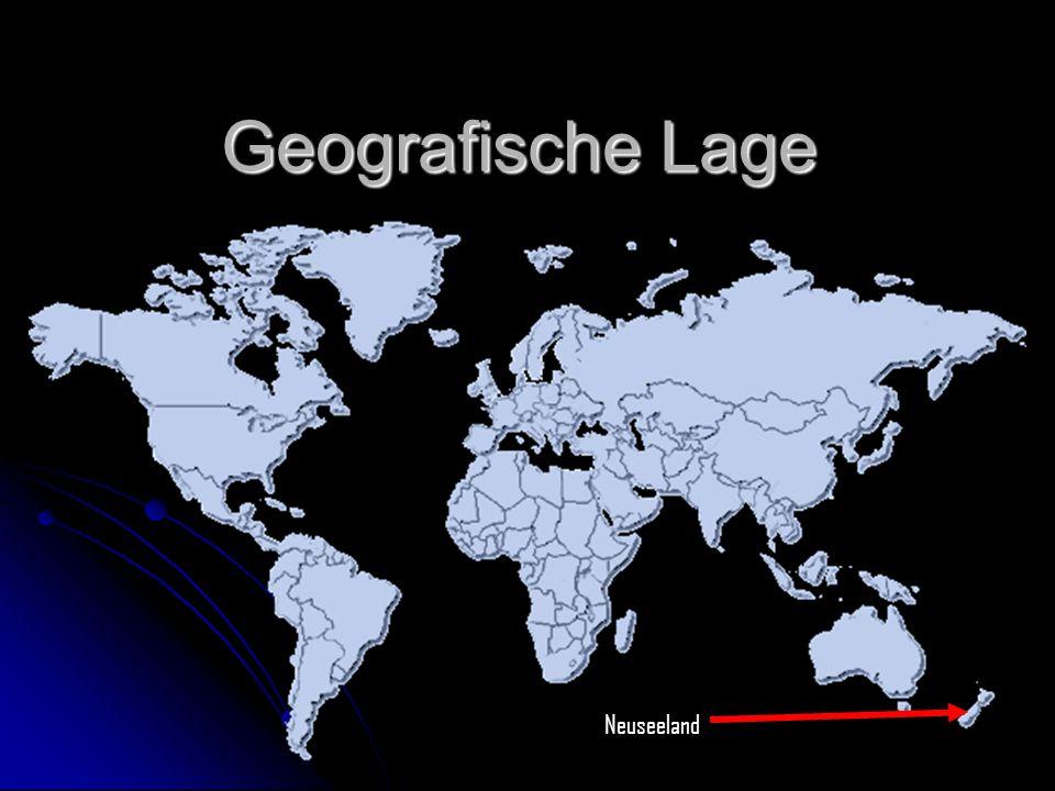 Geografische Lage Neuseeland