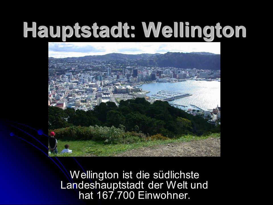 Hauptstadt: Wellington