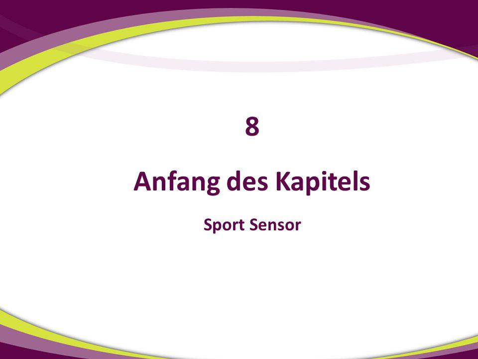 8 Anfang des Kapitels Sport Sensor