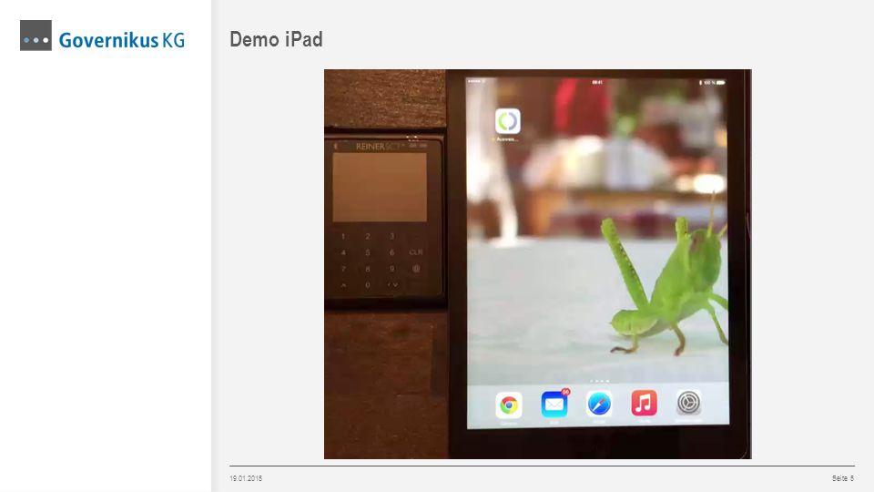 Demo iPad 19.01.2015