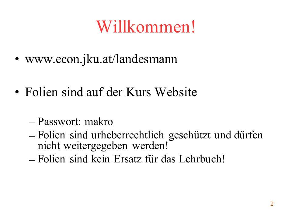 Willkommen! www.econ.jku.at/landesmann