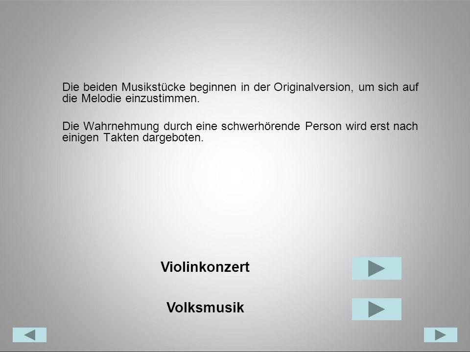 Violinkonzert Volksmusik