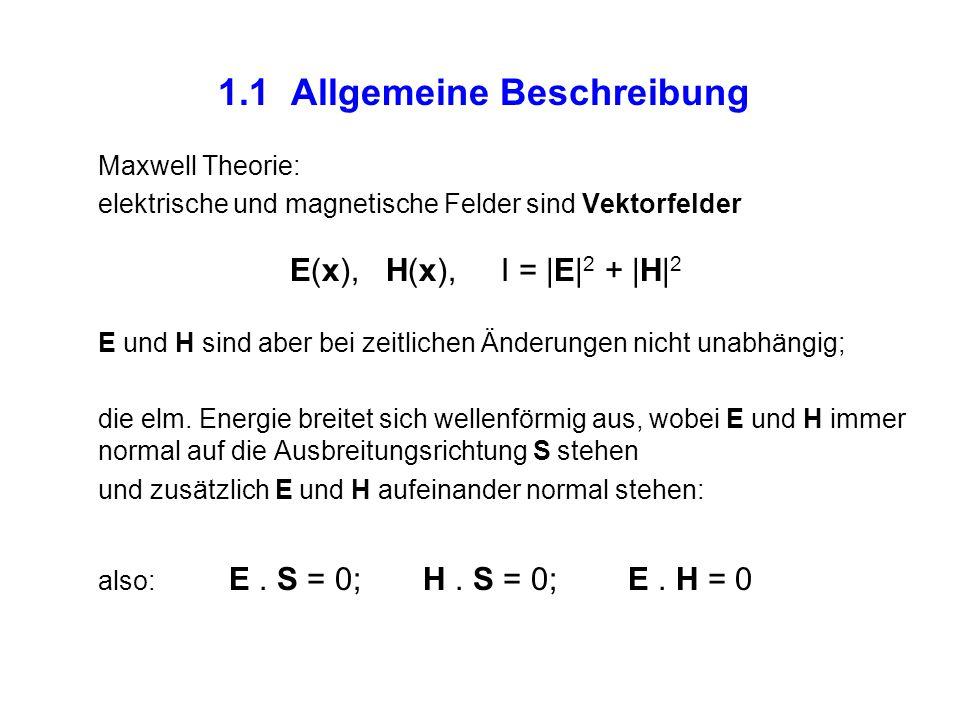 1.1 Allgemeine Beschreibung