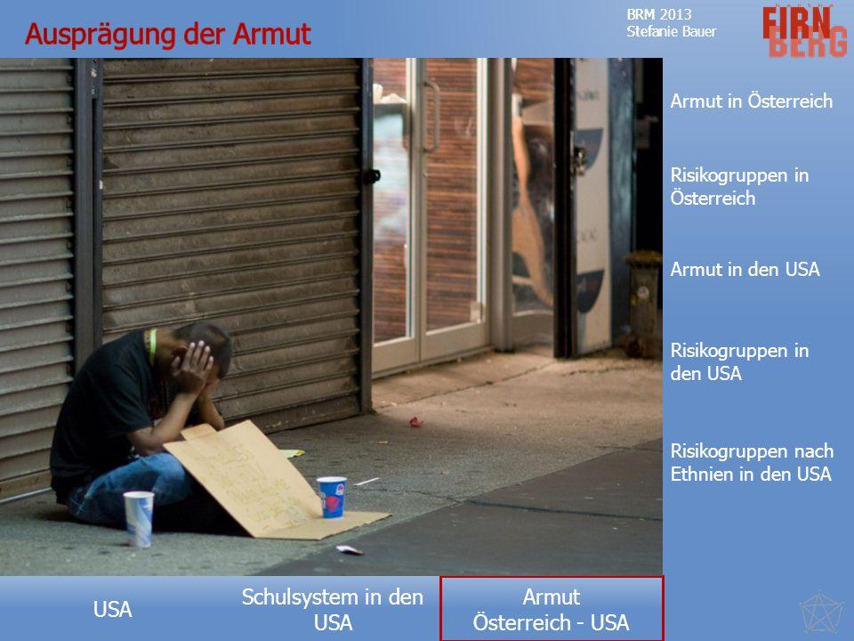 Ausprägung der Armut Armut in Österreich Risikogruppen in Österreich