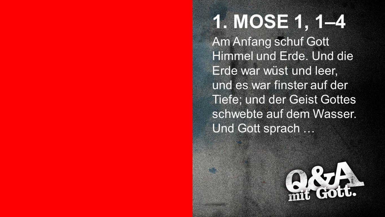 1. MOSE 1, 1–4 Seiteneinblender