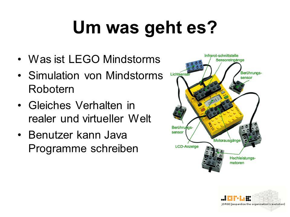 Um was geht es Was ist LEGO Mindstorms
