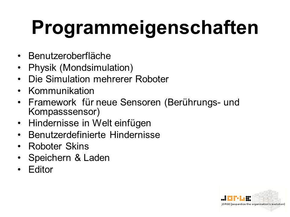 Programmeigenschaften
