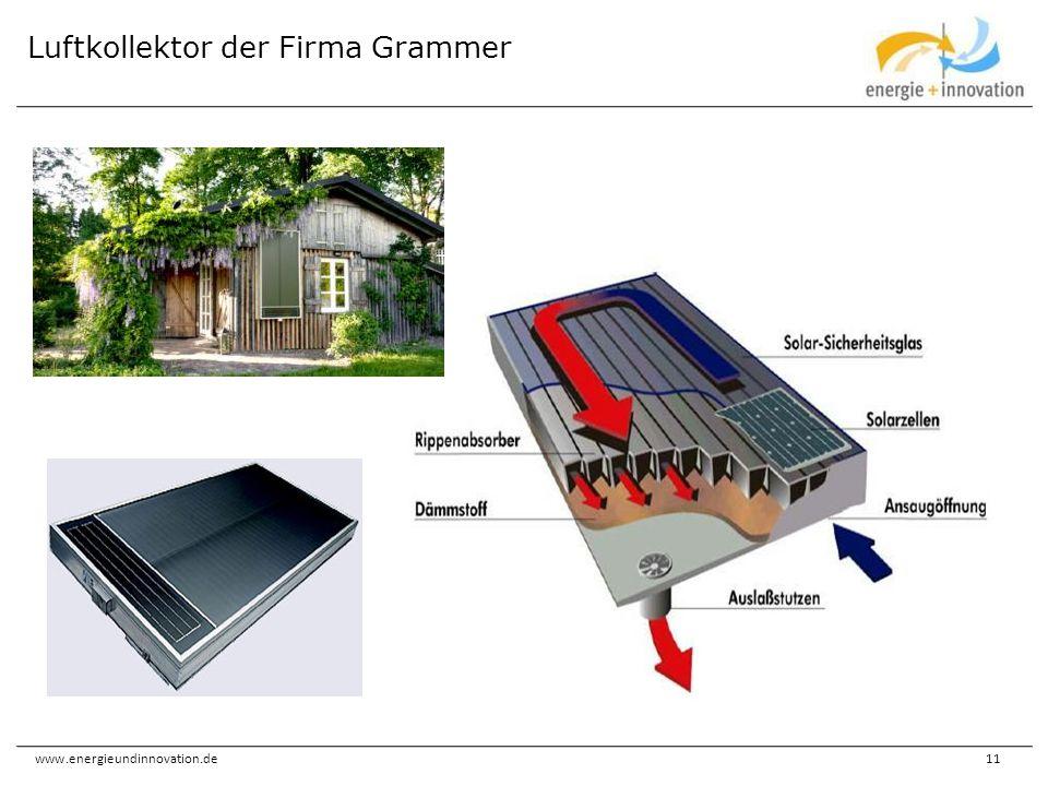 Luftkollektor der Firma Grammer