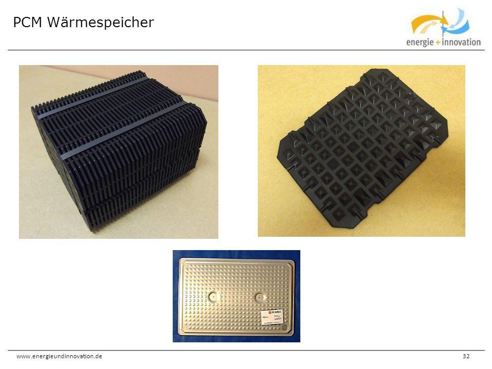 PCM Wärmespeicher