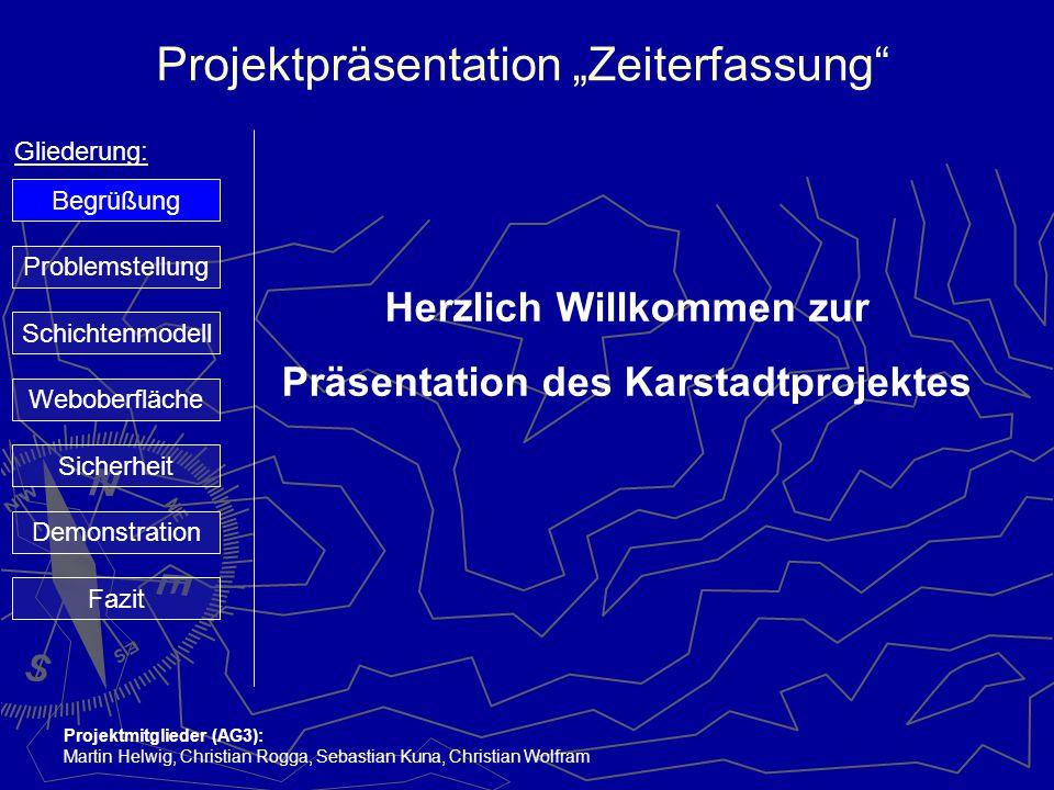 Herzlich Willkommen zur Präsentation des Karstadtprojektes