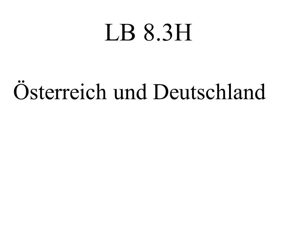 LB 8.3H Österreich und Deutschland