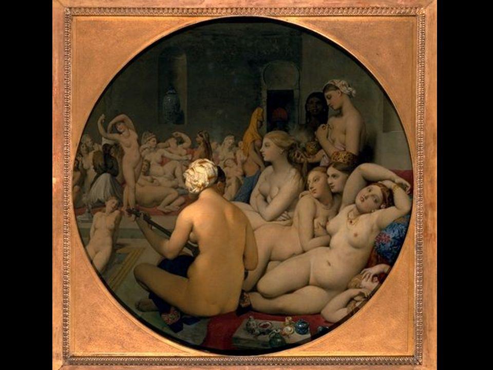 Le Bain Turc 1862 1,10 x 1,10 m Υπέστη σφοδρή κριτική