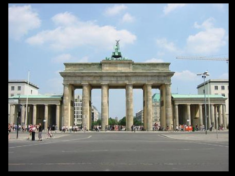Langhans 1732-1808 Brandenburger Tor 1788-1791