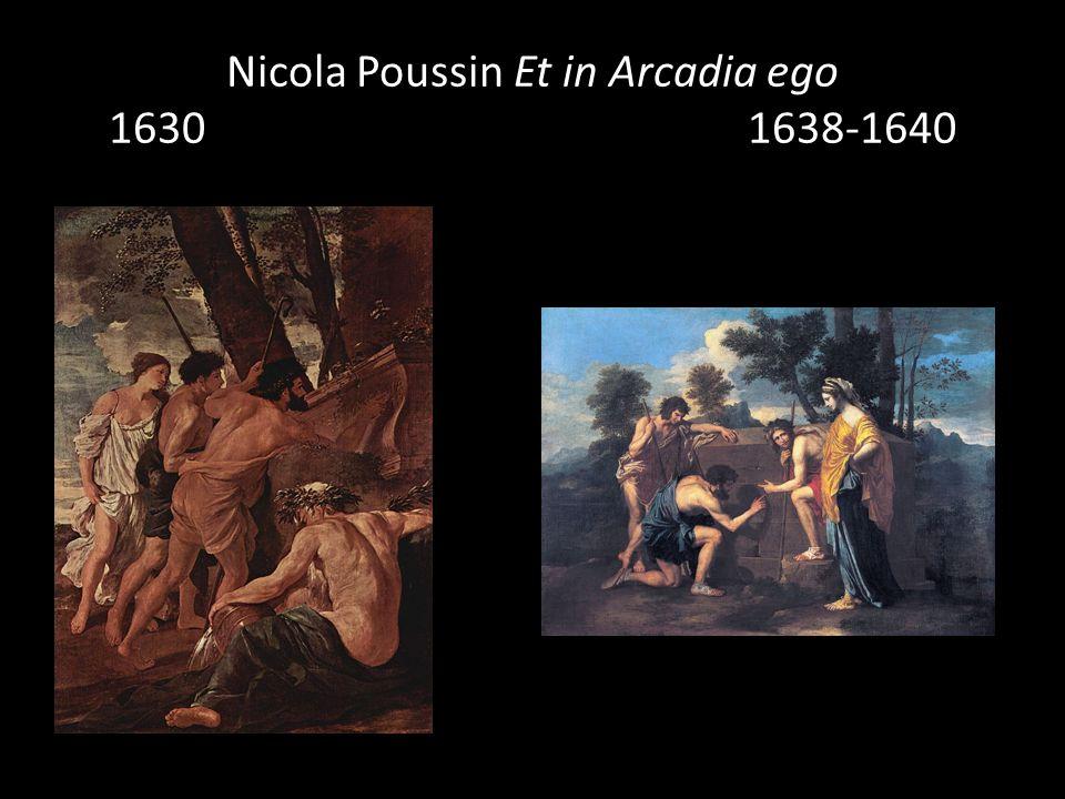 Nicola Poussin Et in Arcadia ego 1630 1638-1640