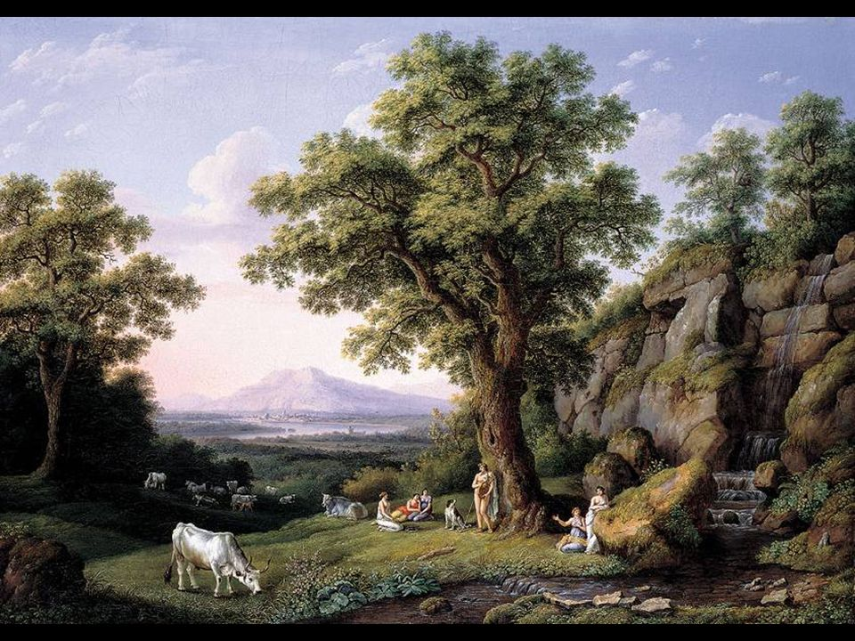 Hackert, Phillip Ideale Landschaft mit Apollo 1805