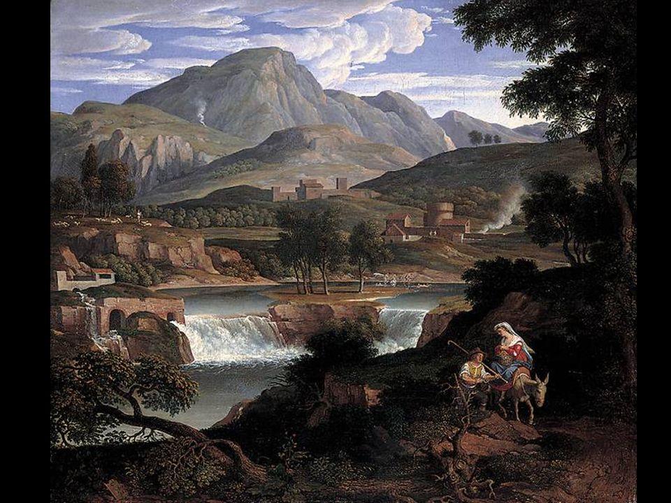 Joseph Anton Koch 1768-1839 Wasserfälle bei Subiaco 1812-13.