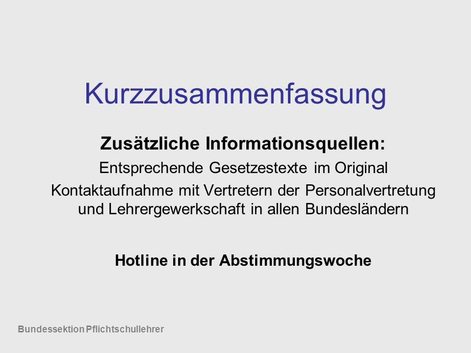 Zusätzliche Informationsquellen: Hotline in der Abstimmungswoche