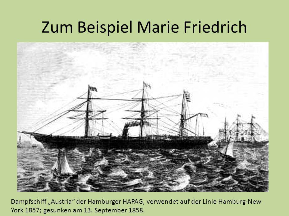 Zum Beispiel Marie Friedrich