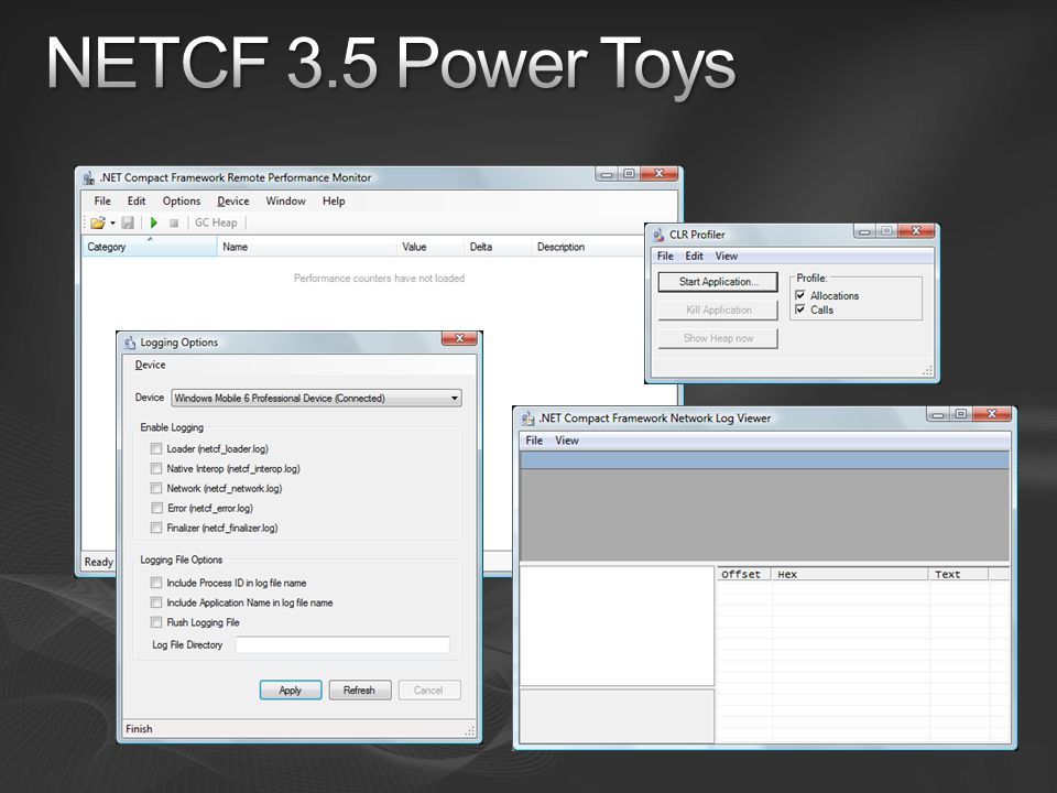 NETCF 3.5 Power Toys