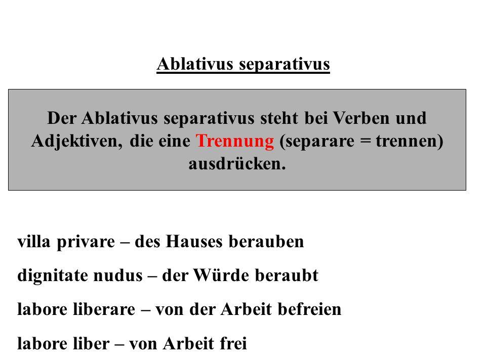 Ablativus separativus