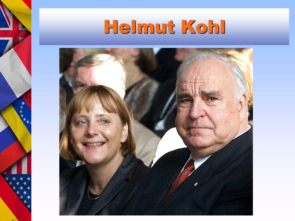 Helmut Kohl Angela Merkel