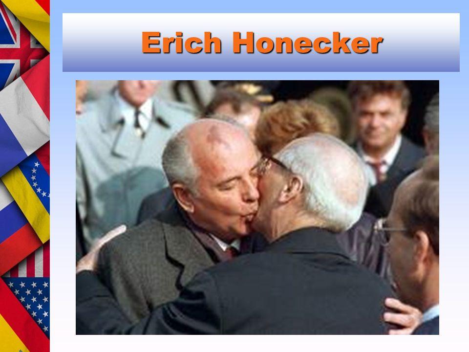Erich Honecker Michail Gorbačov