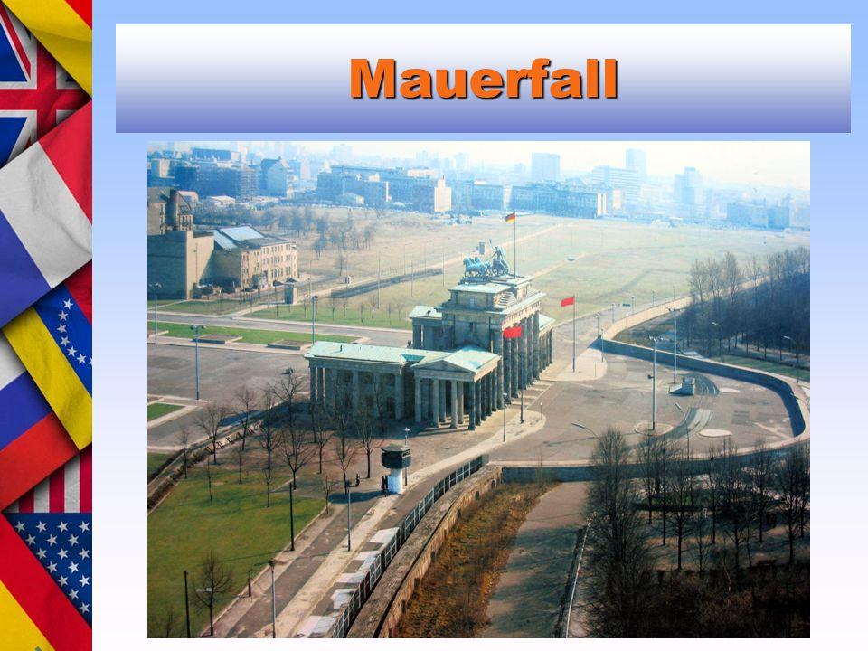 Mauerfall Michail Gorbačov