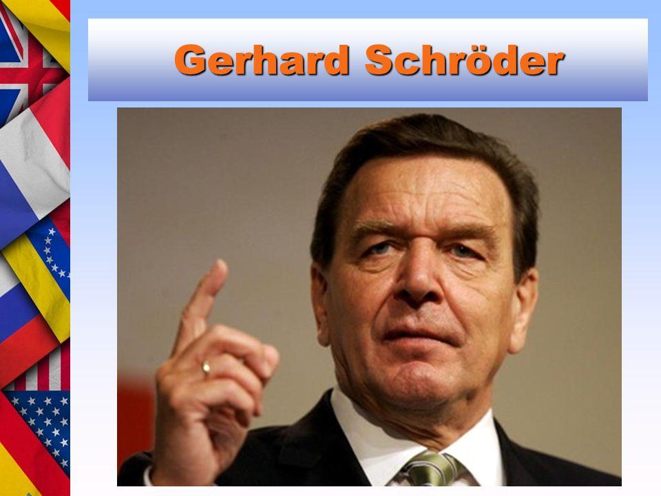 Gerhard Schröder Michail Gorbačov