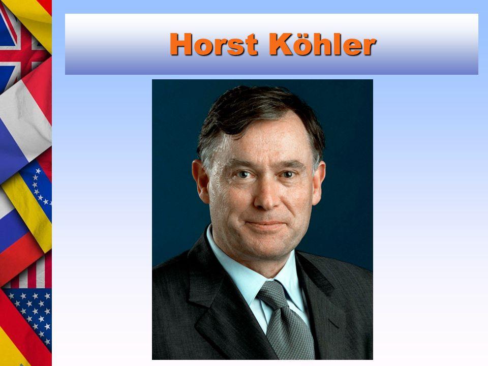 Horst Köhler Michail Gorbačov