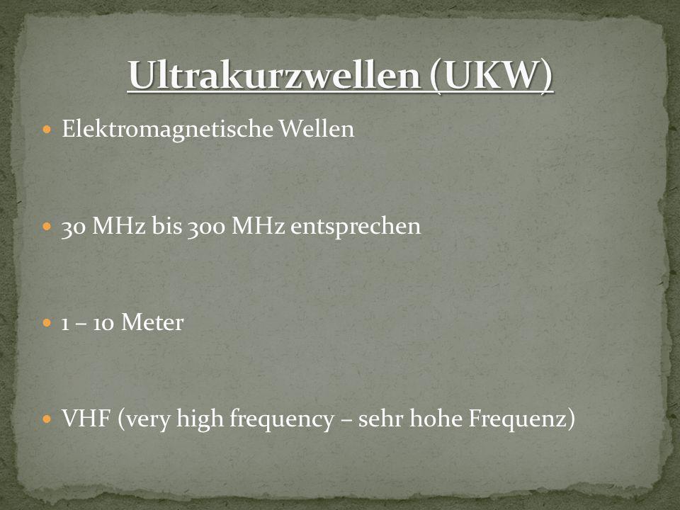 Ultrakurzwellen (UKW)