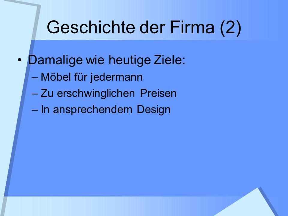 Geschichte der Firma (2)