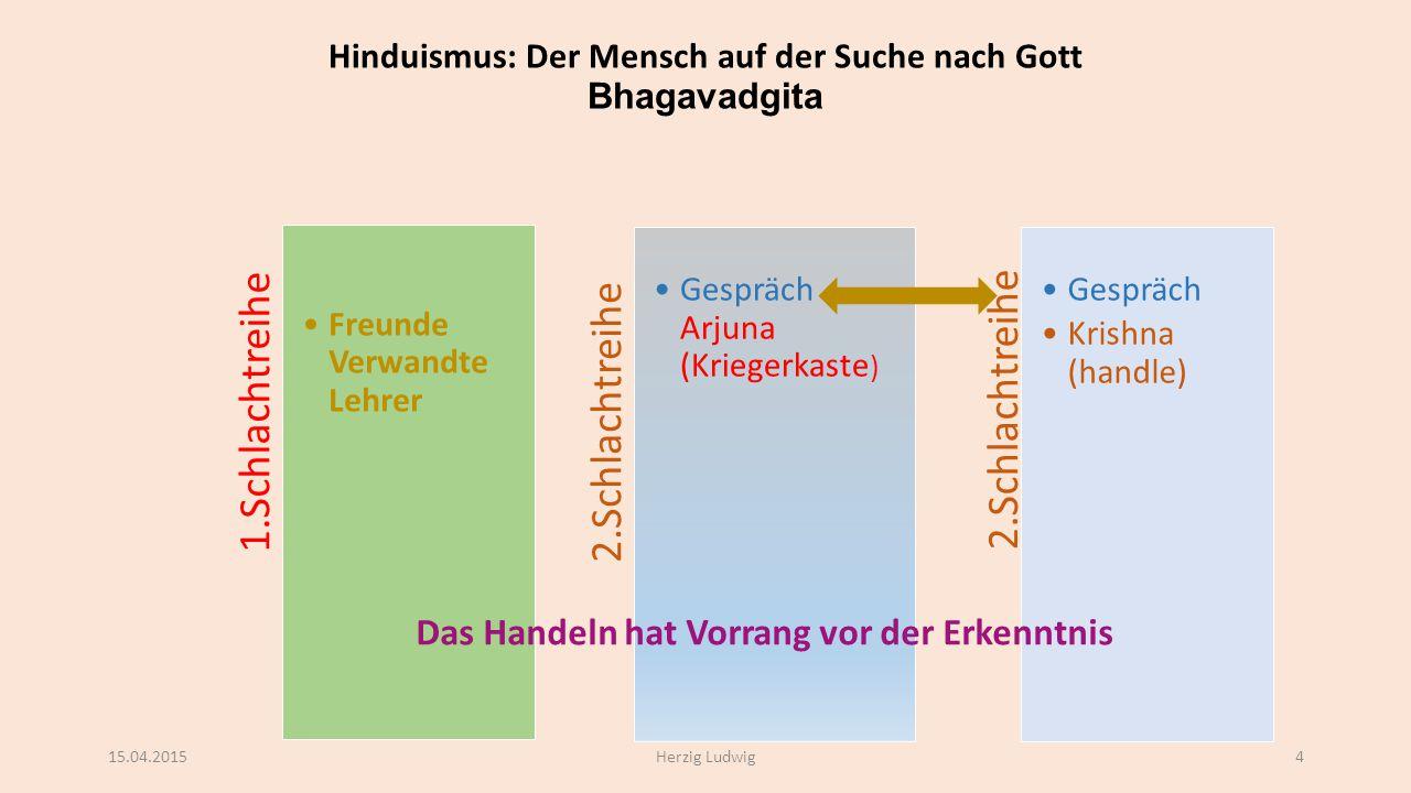 Hinduismus: Der Mensch auf der Suche nach Gott Bhagavadgita