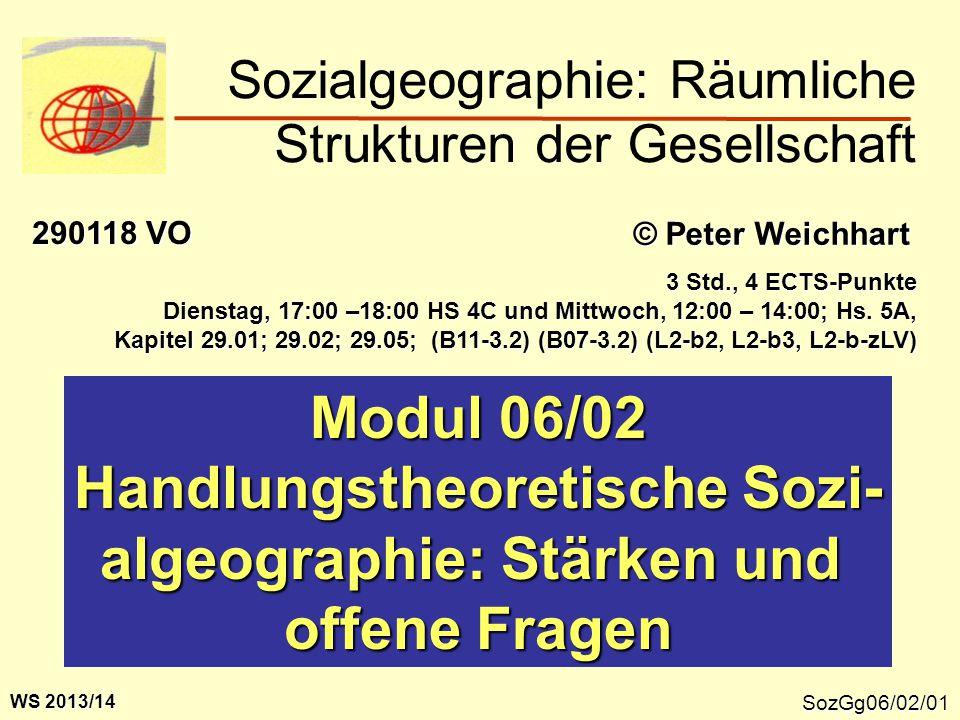 Sozialgeographie: Räumliche Strukturen der Gesellschaft
