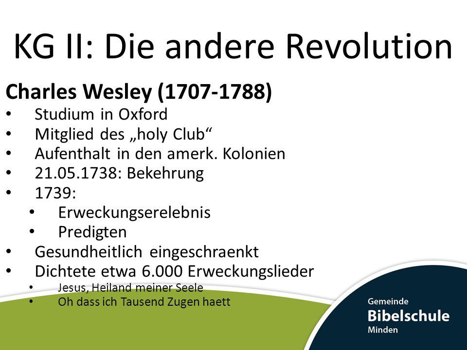 KG II: Die andere Revolution