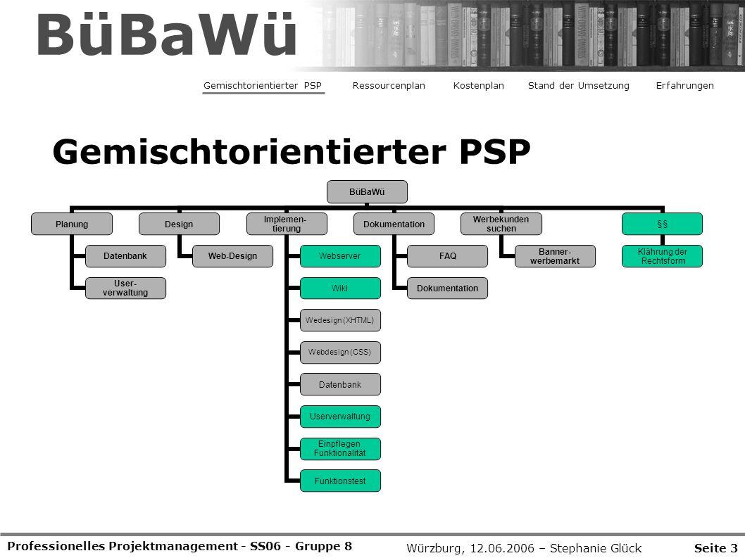 BüBaWü Gemischtorientierter PSP