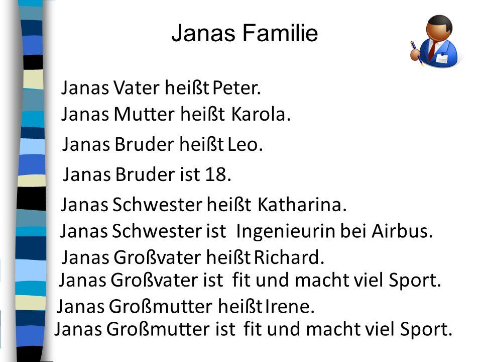 Janas Großmutter heißt