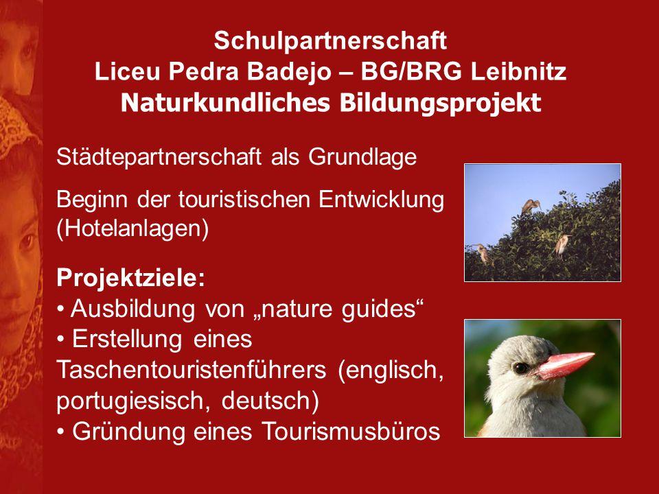 """Ausbildung von """"nature guides"""
