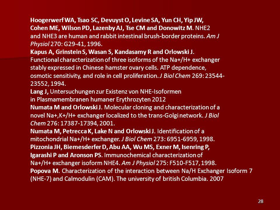 Hoogerwerf WA, Tsao SC, Devuyst O, Levine SA, Yun CH, Yip JW,