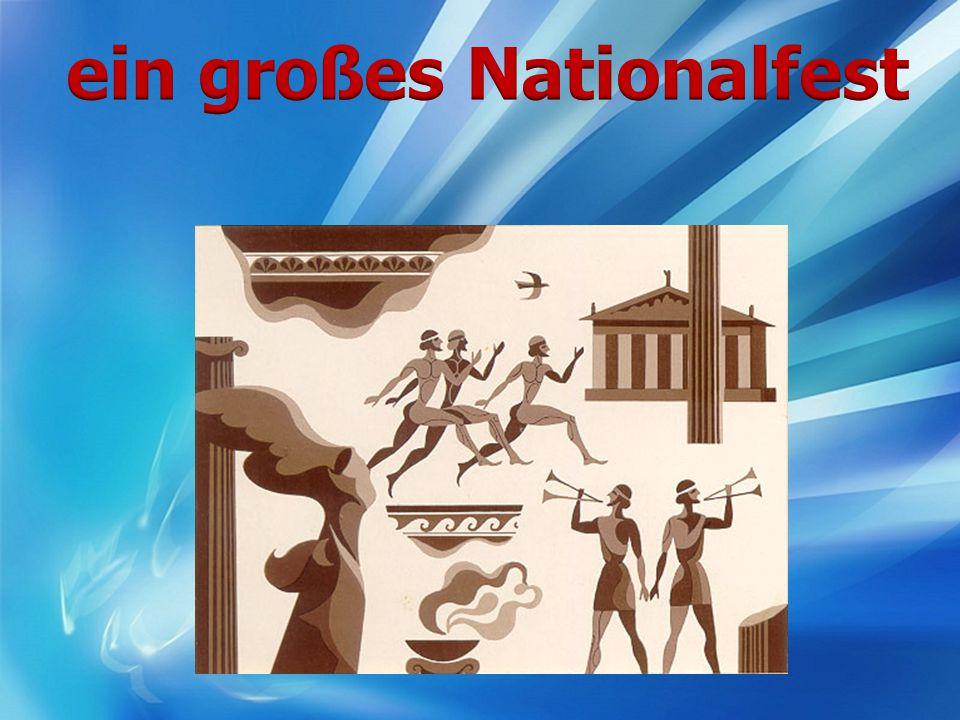 ein großes Nationalfest