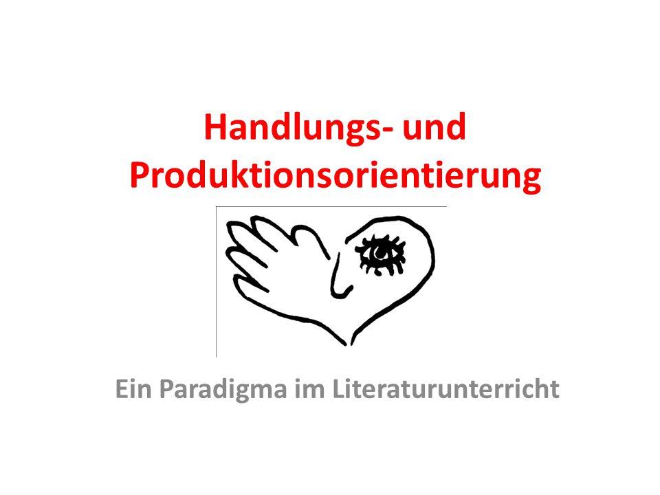Handlungs- und Produktionsorientierung