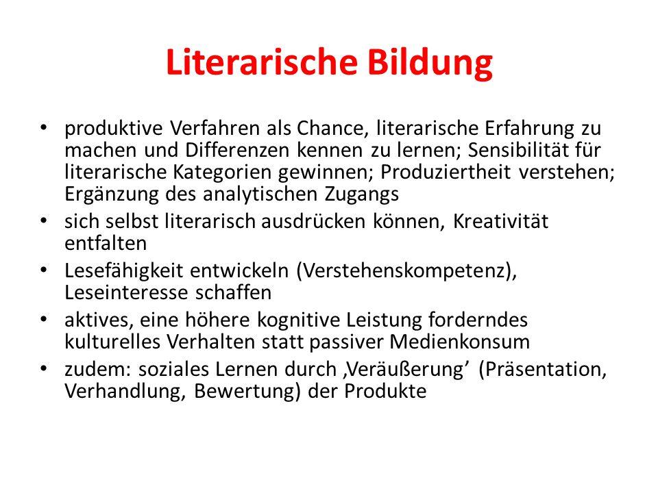 Literarische Bildung