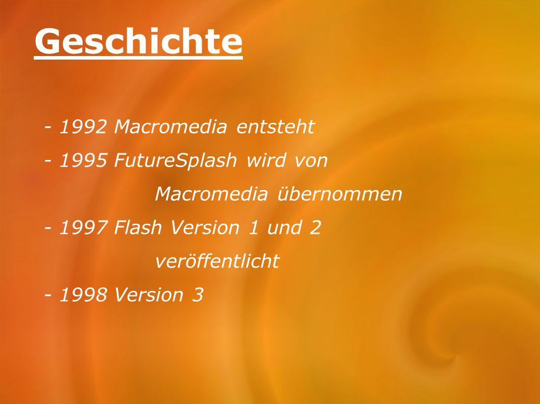 Geschichte - 1992 Macromedia entsteht