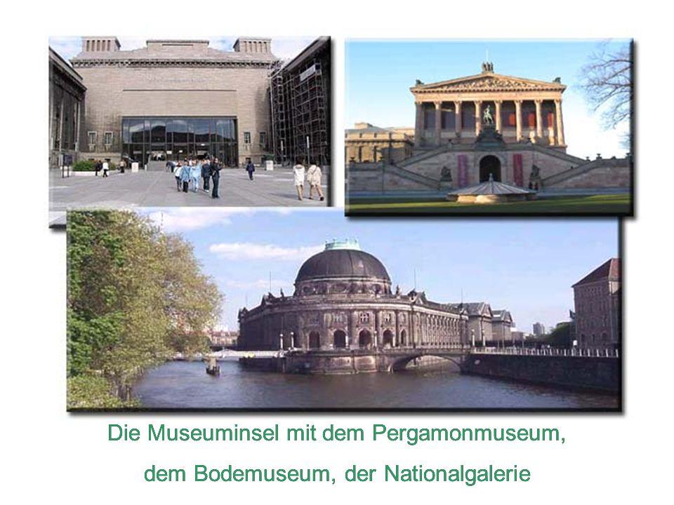 Die Museuminsel mit dem Pergamonmuseum,